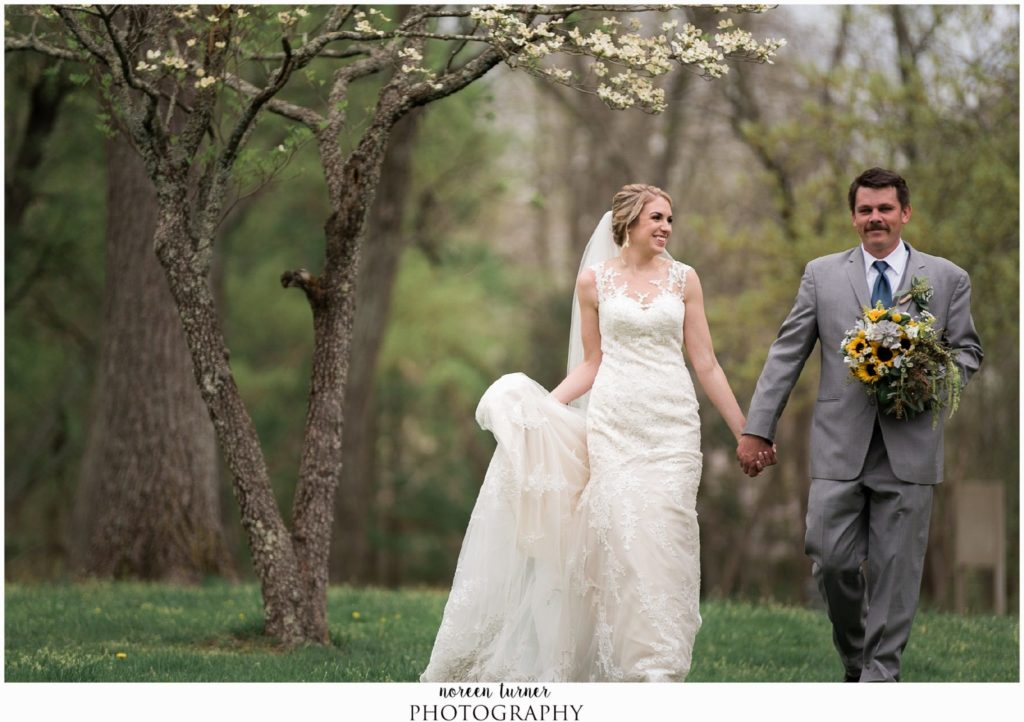 ALLAIRE STATE PARK WEDDING