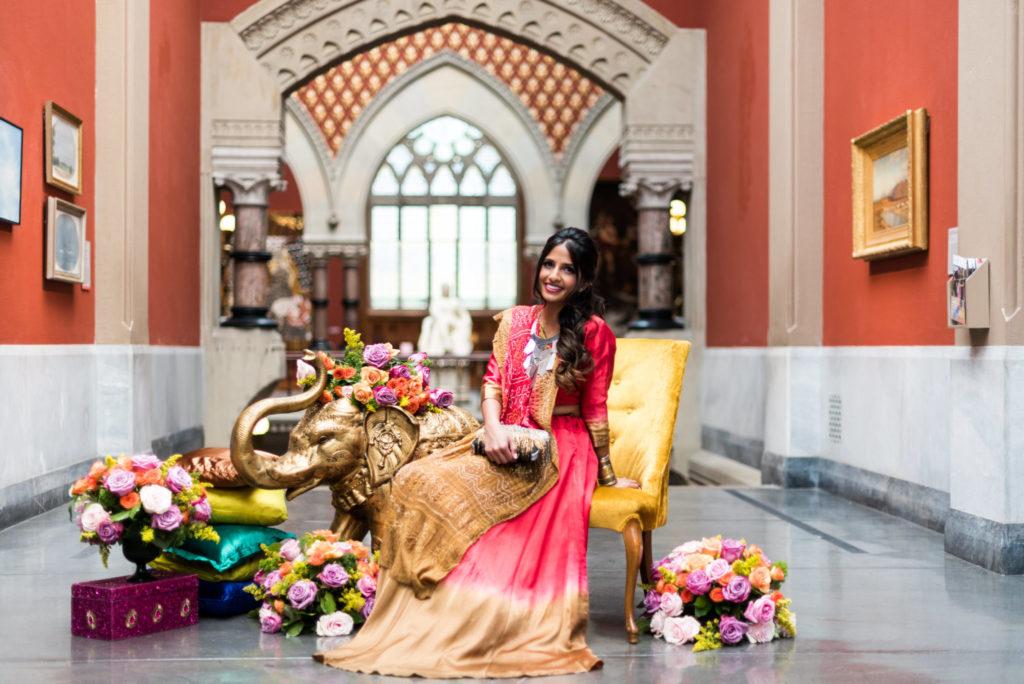 PENNSYLVANIA ACADEMY OF FINE ARTS INDIAN WEDDING