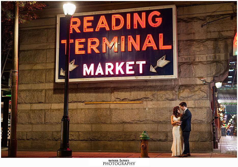 Fall Wedding At Reading Terminal Market Noreen Turner Photography