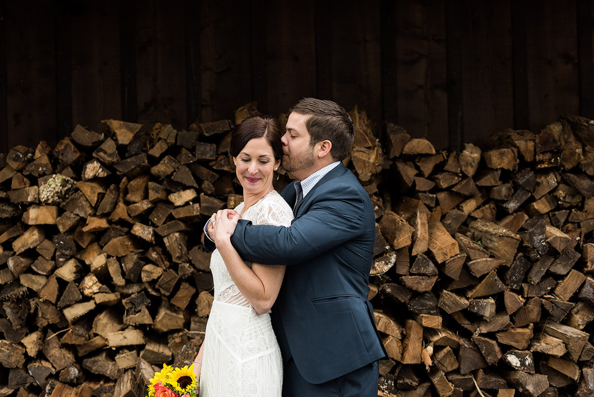 An intimate Black Bass Hotel wedding in Bucks County, Pennsylvania by Noreen Turner Photography