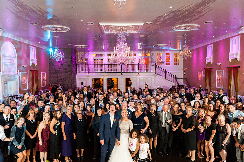 Hamilton Manor wedding in the fall by New Jersey and Philadelphia wedding photographer Noreen Turner