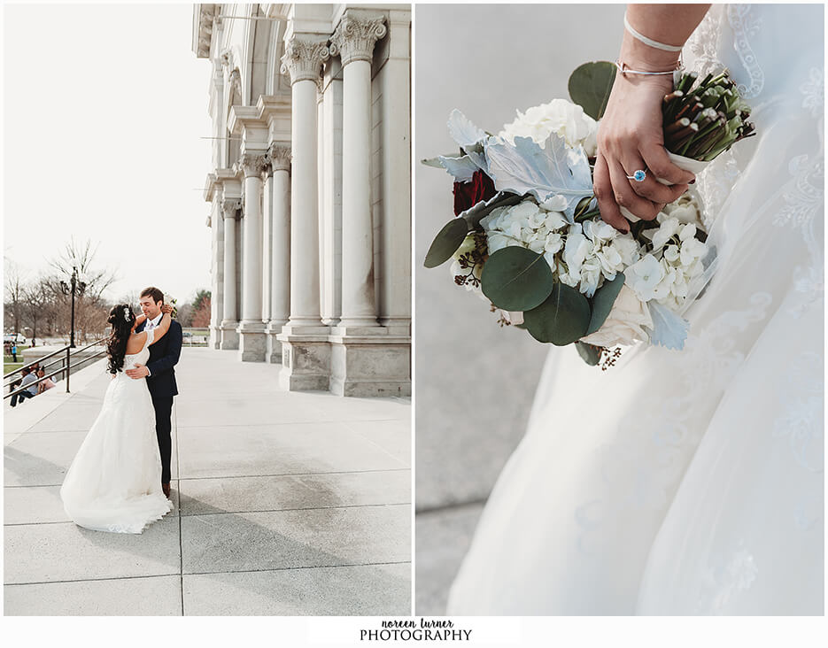 A spring Please Touch Museum wedding by Noreen Turner Photography in Philadelphia.