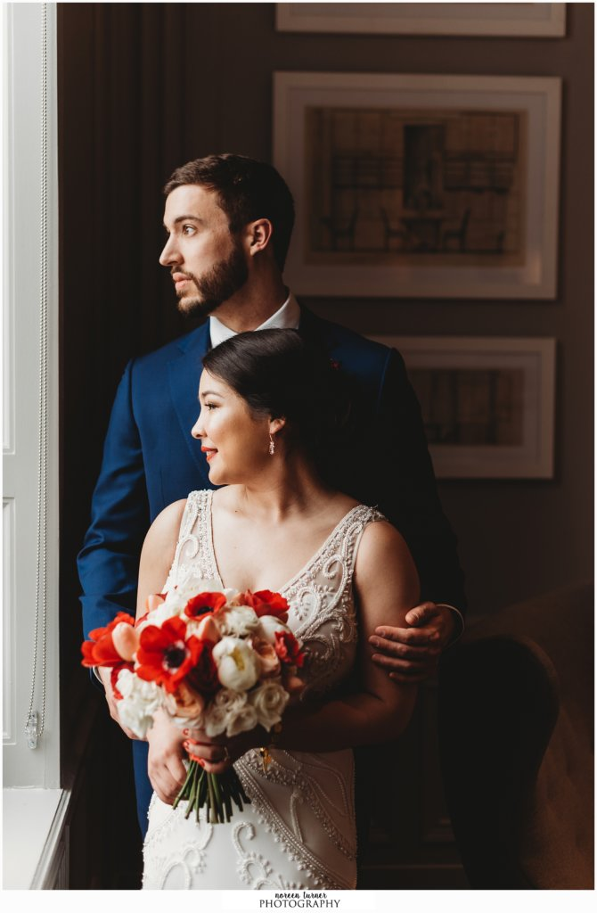 Photos from a spring Hotel Palomar wedding in Philadelphia.