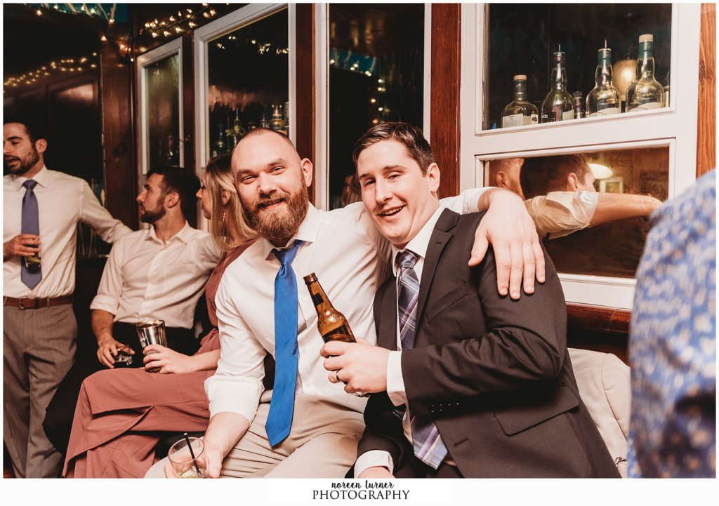 Photos from a spring Hotel Palomar wedding in Philadelphia and after party at Fado.