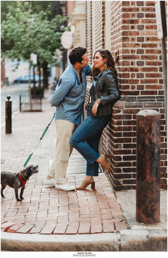 Cherry Street Pier engagement session by Philadelphia photographer Noreen Turner