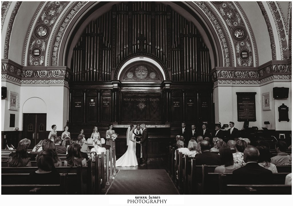 Colonial Dames wedding in Rittenhouse Square Philadelphia
