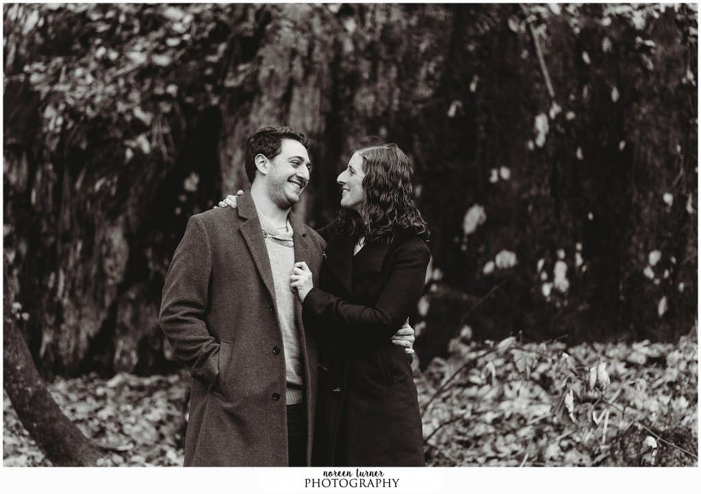Chestnut Hill engagement session