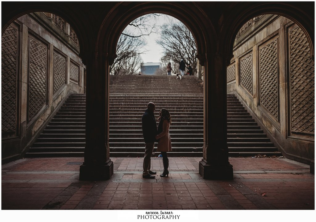 Central Park Engagement session at sunrise in New York City by Noreen Turner Photography