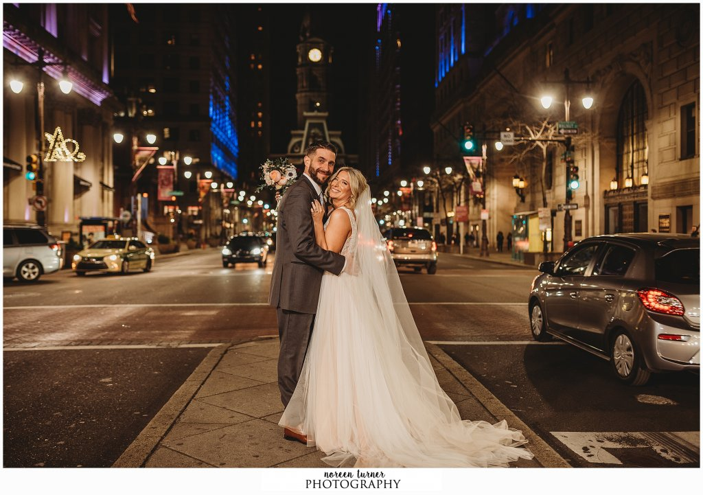 Hyatt at the Bellevue wedding in Philadelphia by Noreen Turner Photography