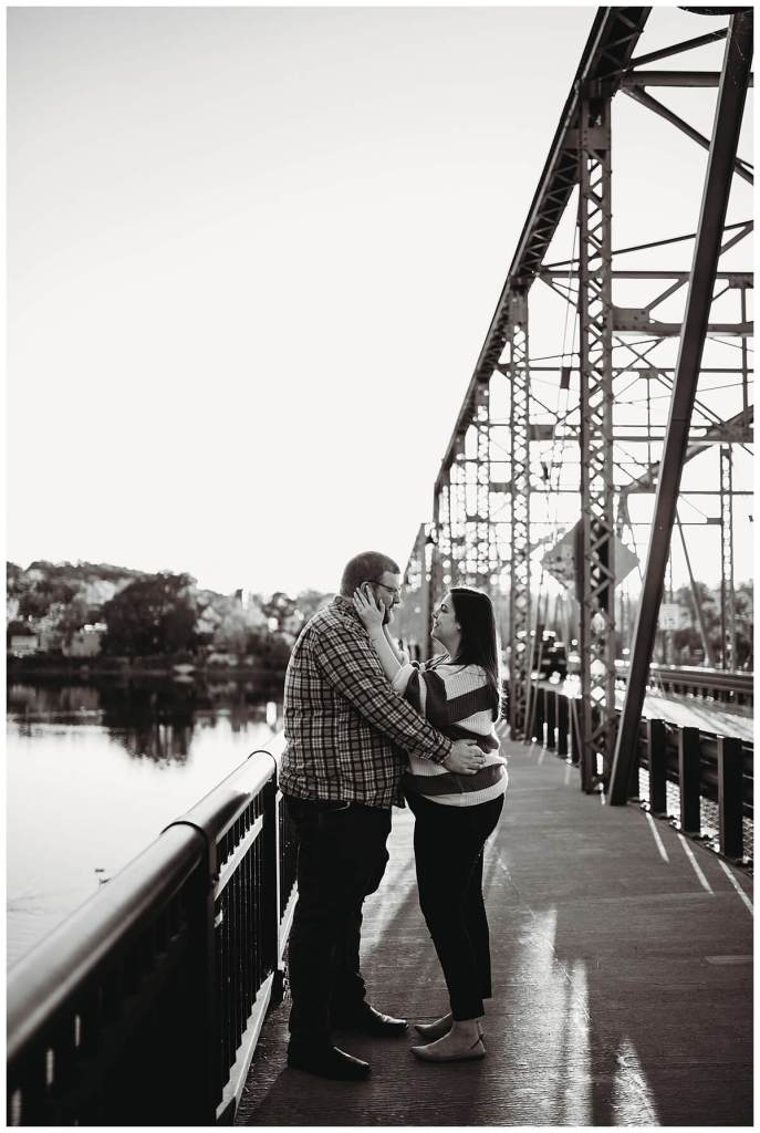New Hope engagement photos by Noreen Turner Photography