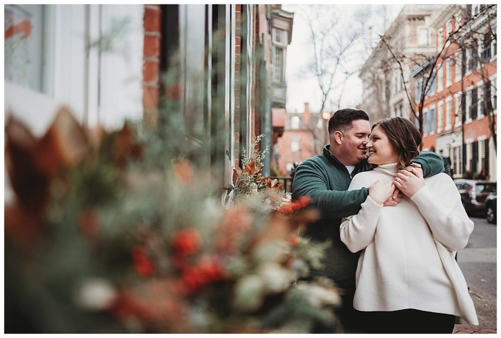 Delancey Street engagement session by Noreen Turner Photography