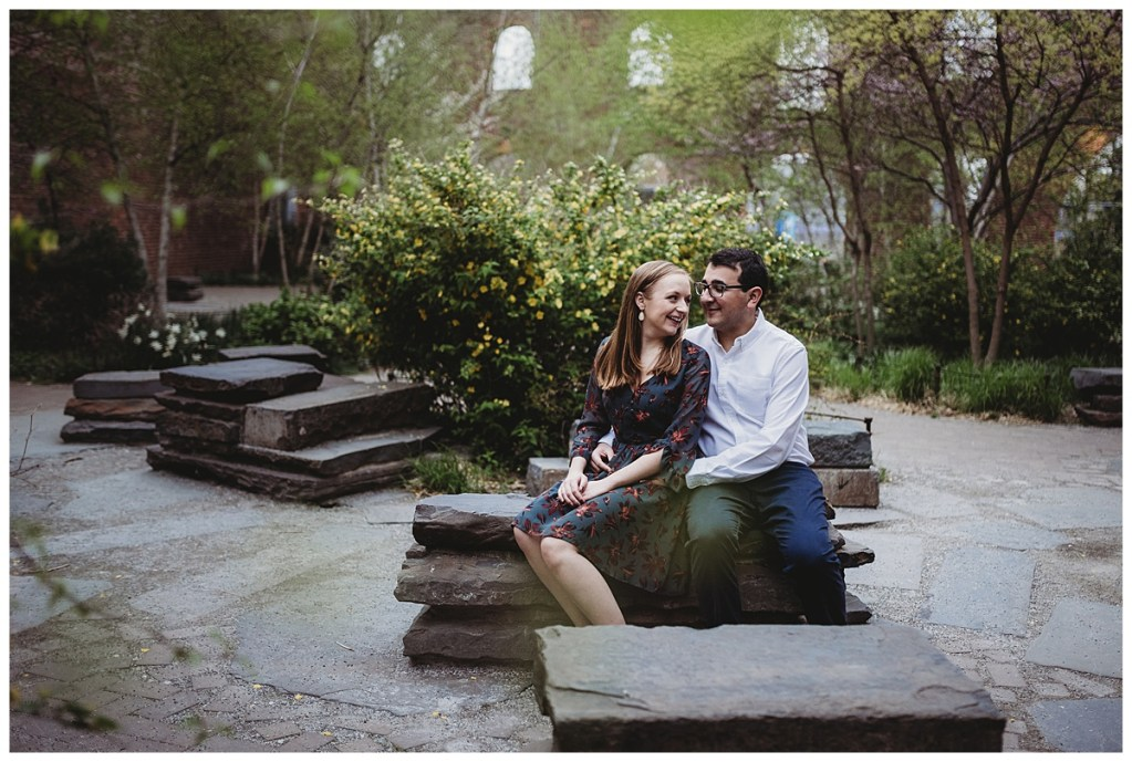 Brooklyn engagement session by Noreen Turner Photography