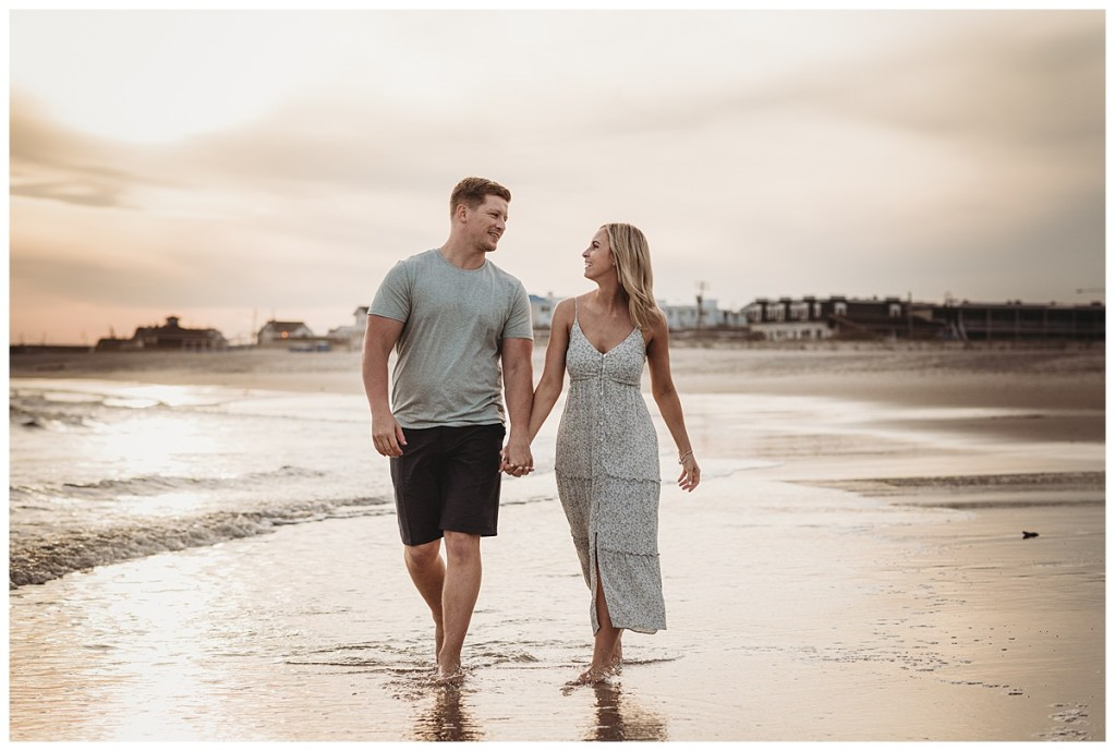 Cape may beach session by Noreen Turner Photography, wedding and engagement photographer